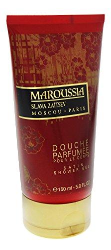 3 x Slava Zaitsev Maroussia Gel doccia per le donne per 150ml