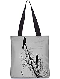 Snoogg Tote Bag 13.5 X 15 Inches Shopping Utility Tote Bag Made From Polyester Canvas - B01GCILRGY
