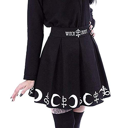 Damen Steampunk Kleidung Gothic Mini Rock Binggong Party Club Wear Retro Spitzenrock Röcke Punk Irregular Kleid Steampunk Cocktail Partykleid Freizeitkleid -