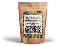 DFOODS Organic Urad Dal Black Split, 500g, | Kali Urad Dal | Black Gram