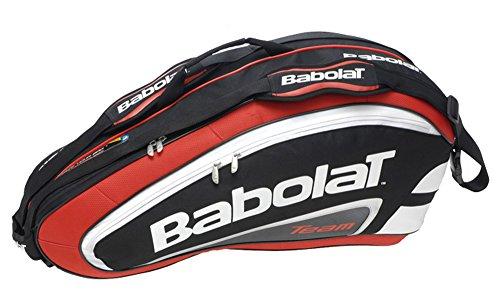 Babolat Schlägertasche Racket Holder X6 Team Line Red, Rot, 76 x 26 x 34 cm, 47 Liter, 751055-104