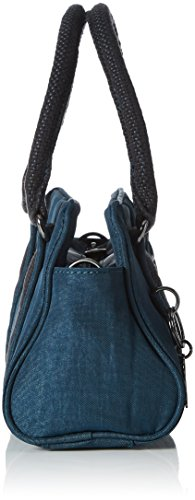 Kipling Damen Bex Mini Henkeltasche, 22x14x10 cm Grün (Deep Teal)