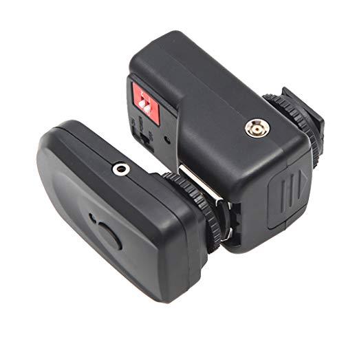 Bomcomi PT-04GY 4-Kanal Wireless Remote-Flash-Trigger Ersatz für Canon Nikon Transmitter und Receiver