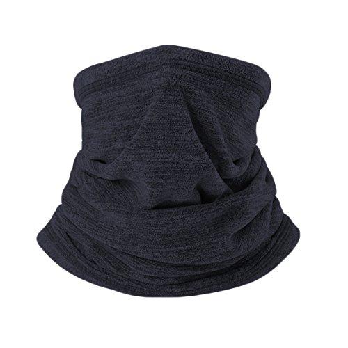 Jiele - sciarpa scaldacollo multifunzione in pile, da uomo. fascia per capelli, cappello, sciarpa, per lavoro e sport invernali all'aperto, escursioni, motociclismo, ciclismo, sci, maschera