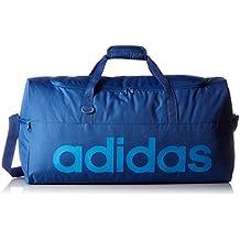 adidas AJ9923 - Bolso deportivo rendimiento lineal, color Azul, talla S