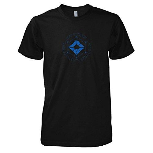 TEXLAB - Geist und Wächter - Herren T-Shirt, Größe S, (Kostüm Titan Destiny)