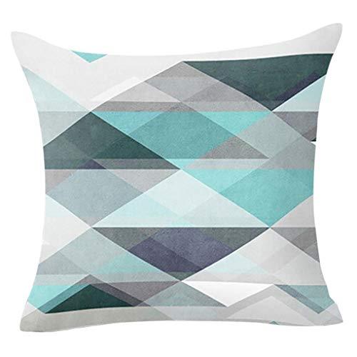 koperras Cushion Cover 45cm x 45cm (18in x 18in),Home Decor Geometric Soft Pillow Case for Sofa Zebra Design Cover Case