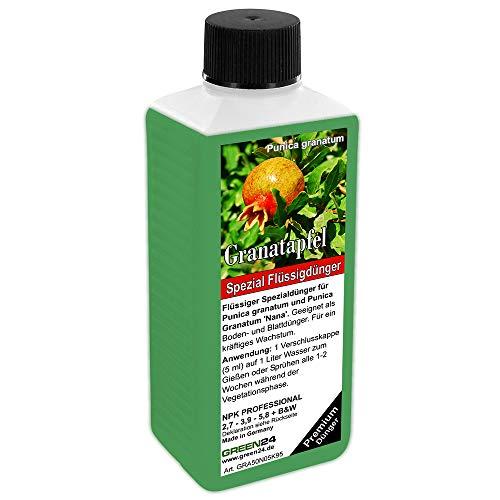 GREEN24 Granatapfel-Dünger HIGH-TECH NPK für Punica granatum, Grenadine Pflanzen in Beet und Kübel (fertilizer)