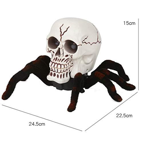 el Spinne Fernbedienung Lustiger Streich Kinder Spielzeug Geschenk Halloween ()