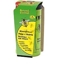 SWISSINNO 1 343 001W NaturalControl Wespenfalle Set inkl. Naturköder, giftfrei, 1 Stück
