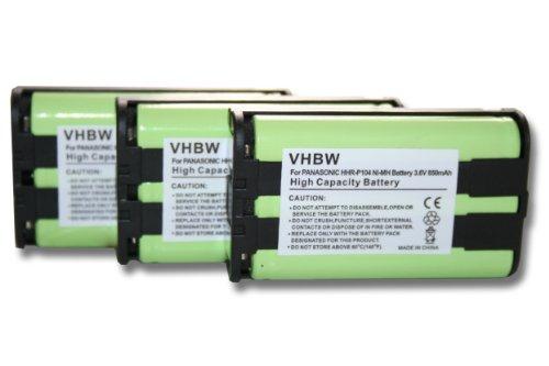 vhbw-3x-nimh-batterie-850mah-36v-pour-telephone-fixe-sans-fil-radio-shack-23-968-43-9024-43-9025-43-