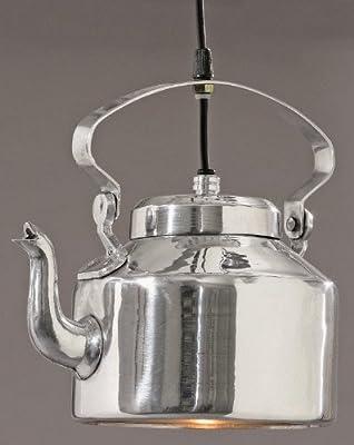 Geniale Deckenlampe Modell 'teekanne' Aus Aluminium In Silber von B&B bei Lampenhans.de