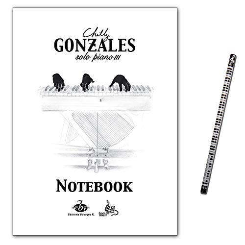Chilly Gonzales - NoteBook Solo Piano III - Notenbuch mit Musik-Bleistift - EBR532 9790560154558