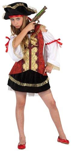 Imagen de atosa  disfraz de pirata para niña, talla l, 7 9 años 111 6366