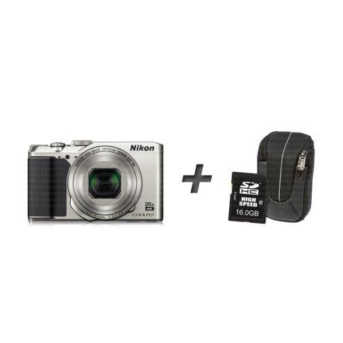 Nikon COOLPIX A900 + sac + carte mémoire - argent