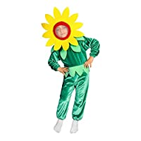 Sun Flower Costume (6-7 Years, Jorsey)