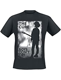 The Cure Boys Don't Cry T-Shirt schwarz