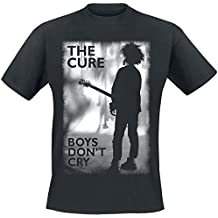The Cure Boys Don't Cry Camiseta Negro