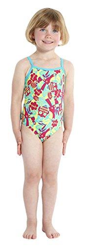 Speedo Mädchen Baby Badeanzug Einteiler Essential, Größe 104