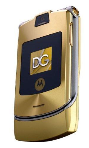 Motorola RAZR V3i DOLCE & GABBANA GOLD EDITION Motorola Razr V3i