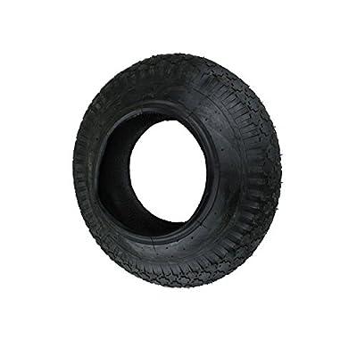 SET Reifen+Schlauch 400x100 4.80/4.00-8 Block Profil PR4-Lagen Tragfähigkeit 180 kg von Unbekannt - Du und dein Garten