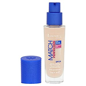 Rimmel London Match Perfection Liquid Foundation, Hydrated And Radiant glowing Effect With Smart-Tone Technology And Spf…