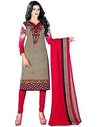 A K Designer Women's Chiffon Dress Material(Mehak9014_multicoloured_Free Size)