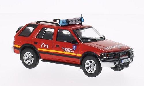 Preisvergleich Produktbild Opel Frontera A, Feuerwehr Offenbach (ohne Magazin) , 1991, Modellauto, Fertigmodell, SpecialC.-40 1:43
