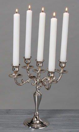 KUHEIGA Kerzenleuchter, Messingleuchter, Tischleuchter