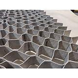 Floratex Systems | Pack 5-25m2 - Stabilisateur de Gravier 4cm Hauteur (5x5cm) - 1x5m (11,60€/m2)