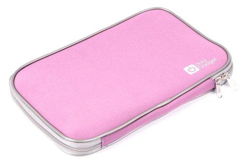 DURAGADGET ROSAFARBENE, wasserabweisende Hülle aus Neopren, kompatibel mit LENOVO IdeaTab S6000L Tablet PCs