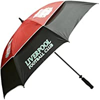 LIVERPOOL FC GOLF UMBRELLA - GUSTBUSTER (TM) DOUBLE CANOPY