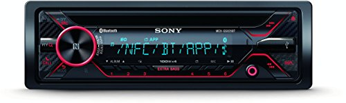 SONY MEX-GS820BT CD-Autoradio (4 x 100 Watt, Blueooth, NFC, Time Alignement, 3 PreOut, Freisprechen und Streaming) - Für Autoradio Sony Fernbedienung