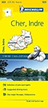 Cher/Indre (Michelin Local Maps)