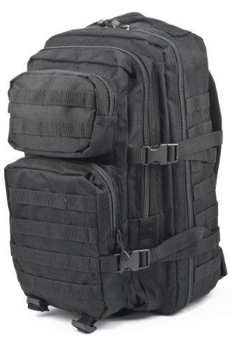 Patrol MOLLE US Army Assault Pack Tactical Rucksack Backpack Bag 36L Black