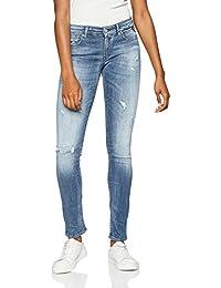 Replay Damen Skinny Jeans Luz Hyperflex