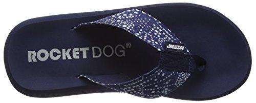 Rocket Dog  Spotlight,  Damen Zehensandalen Blau - Bleu (Blue Ba1)
