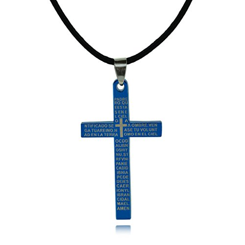 charm-men-blue-stainless-steel-celtic-cross-christian-necklace-leather-cord-dangle-necklace