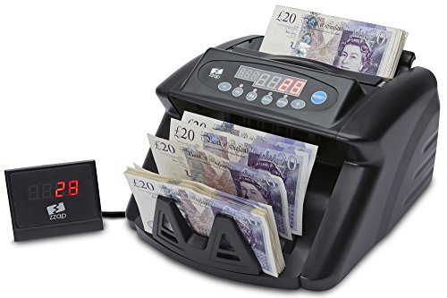 For Sale The ZZap NC10+ Banknote Counter & Counterfeit Detector – Rechargeable battery for portable use, counts all world currencies, 2-fold counterfeit detection and more! Reviews
