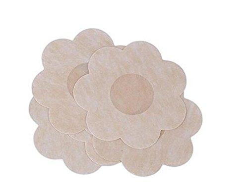 Klebe-BH, selbstklebend, wasserdicht, zum Abkleben der Brustwarzen, für Frauen und Mädchen, 10 Paar (Cover Appliance Pads)