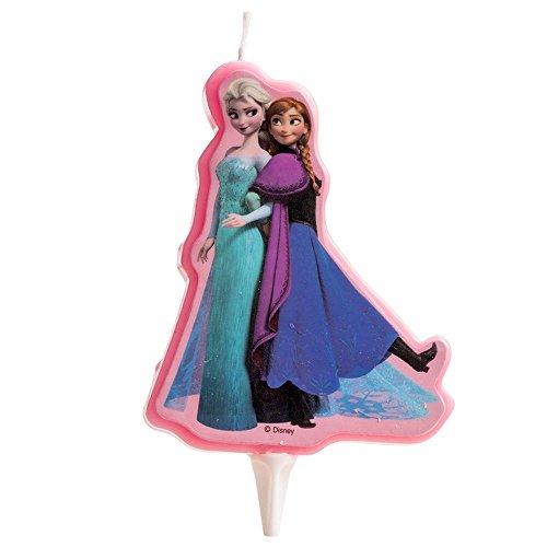 Bougie Elsa et Anna - Frozen - La Reine des Neiges - Taille Unique