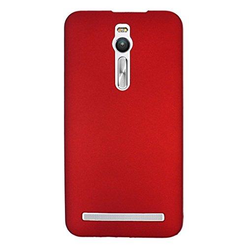 watch 23622 a27e9 Mobile ZenFone 2 ZE551ML/ZE550ML 5.5 Solid Hard Plastic Case Cover Red,  Moon Mood Asus Zenfone 2 Solid Ultra Slim PC back Bumper case hard shell  case ...