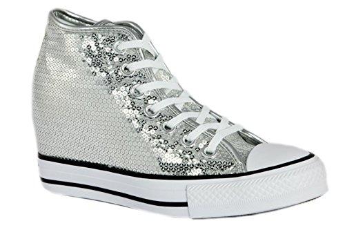 1cd3101f5838 Converse - Converse Ctas Lux Mid Scarpe Donna Zeppa Interna ...