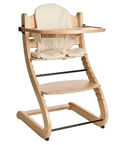 kinderhochstuhl treppenhochstuhl mit sitzkissen und. Black Bedroom Furniture Sets. Home Design Ideas