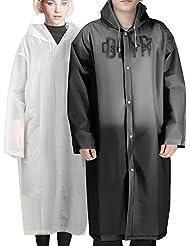 Angelsport 5x Regen-mantel Regenschutz Regenjacke Jacke Poncho Regenbekleidung Regenponcho