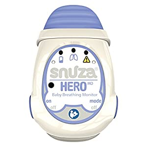 Snuza Hero MD (Medically Certified) Portable Baby Breathing Monitor   9