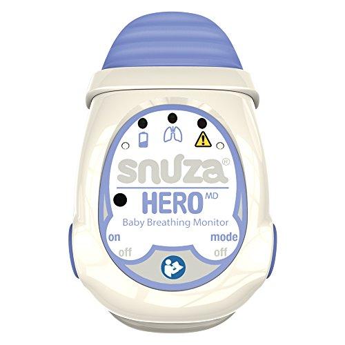 Persönliche Medizinische Alarme (Snuza Hero MD tragbarer Baby-Atemmonitor, medizinisch geprüft)