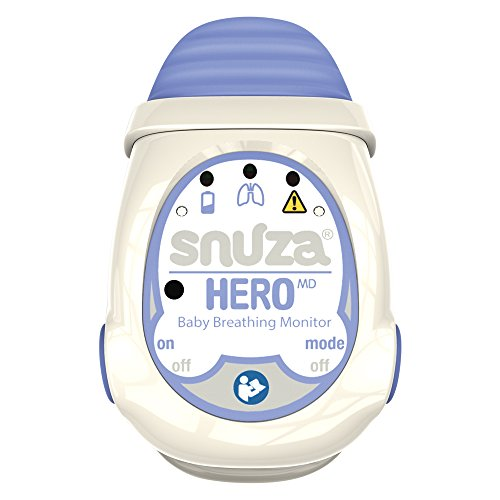 Snuza Hero MD tragbarer Baby-Atemmonitor, medizinisch geprüft -