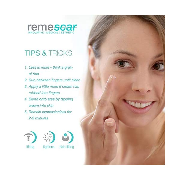 Remescar – Corrector de arrugas al instante – Probado clínicamente – Reducción de las arrugas y de los signos…
