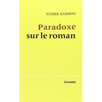 Paradoxe Sur le Roman